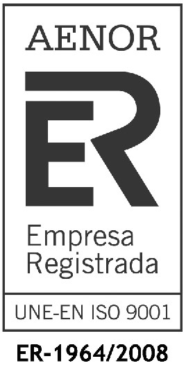 AENOR sello empresa registrada